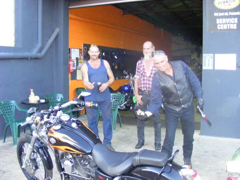 Trumpy/Dyna Dan, Lucky Phill and Dave Evo